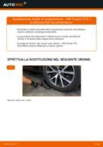 Come cambiare molle di sospensione della parte anteriore su VW Touran 1T3 - Guida alla sostituzione