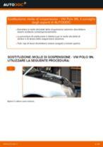 Come cambiare molle di sospensione della parte anteriore su VW Polo 9N - Guida alla sostituzione
