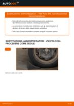 Come cambiare ammortizzatori della parte posteriore su VW Polo 9N - Guida alla sostituzione