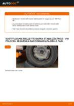 Impara a risolvere il problema con Biellette Barra Stabilizzatrice posteriore e anteriore VW