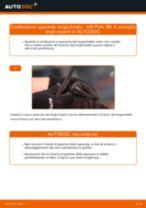 Come cambiare spazzole tergicristallo della parte anteriore su VW Polo 9N - Guida alla sostituzione