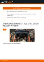 Montering Stabstag AUDI A3 (8L1) - steg-för-steg-guide