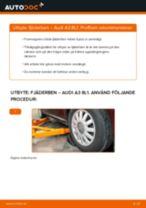 Steg-för-steg-guide i PDF om att byta Bromsbelägg i Volvo v40
