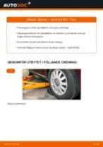 Byta fjädrar fram på Audi A3 8L1 – utbytesguide