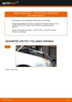 Byta fjäderben fram på VW Polo 9N – utbytesguide