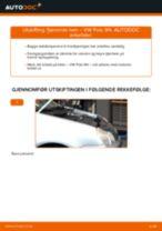 Mekanikerens anbefalinger om bytte av VW Polo 9n 1.2 12V Fjærer
