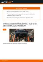 Jak wymienić łącznik stabilizatora przód w Audi A3 8L1 - poradnik naprawy