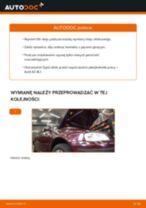 Jak wymienić oleju silnikowego i filtra w Audi A3 8L1 - poradnik naprawy