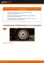 Jak wymienić sprężyny zawieszenia tył w Audi A3 8L1 - poradnik naprawy