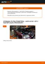Jak wymienić filtr powietrza w Audi A3 8L1 - poradnik naprawy