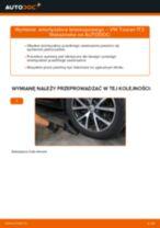 Jak wymienić amortyzator teleskopowy przód w VW Touran 1T3 - poradnik naprawy