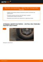 Jak wymienić amortyzator tył w VW Polo 9N - poradnik naprawy