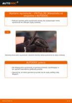 Jak wymienić wycieraczki przód w VW Polo 9N - poradnik naprawy