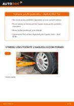 Ako vymeniť predné vľavo vpravo Lozisko kolesa na FIAT STRADA Pick-up - manuály online