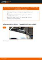 Ako vymeniť predné jednotka prużenia, tlmič prużenia na VW Polo 9N – návod na výmenu