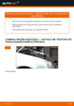 Ako vymeniť predné pružina podvozku na VW Polo 9N – návod na výmenu