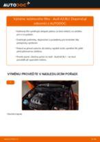 Jak vyměnit přední a zadní Brzdovy valecek CHRYSLER udělej si sám - online návody pdf