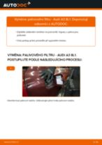 Jak vyměnit palivový filtr na Audi A3 8L1 – návod k výměně