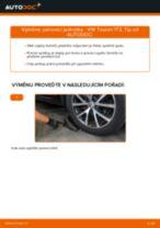 Jak vyměnit přední pérovací jednotka na VW Touran 1T3 – návod k výměně
