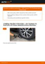 Jak vyměnit zadní pružiny podvozku na VW Touran 1T3 – návod k výměně