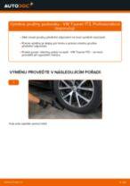 Jak vyměnit přední pružiny podvozku na VW Touran 1T3 – návod k výměně