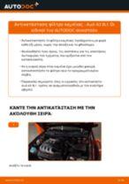 Πώς να αλλάξετε φίλτρο καμπίνας σε Audi A3 8L1 - Οδηγίες αντικατάστασης
