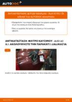 Πώς να αλλάξετε φιλτρο καυσιμου σε Audi A3 8L1 - Οδηγίες αντικατάστασης