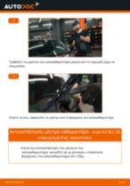 Πώς να αλλάξετε μάκτρο καθαριστήρα εμπρός σε Audi A3 8L1 - Οδηγίες αντικατάστασης