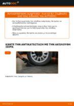 Πώς να αλλάξετε αμορτισέρ πίσω σε Audi A3 8L1 - Οδηγίες αντικατάστασης