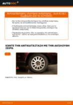 Πώς να αλλάξετε ελατήρια ανάρτησης πίσω σε Audi A3 8L1 - Οδηγίες αντικατάστασης