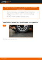 Avtomehanična priporočil za zamenjavo AUDI Audi A3 8pa 1.9 TDI Blazilnik