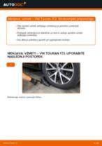 Kako zamenjati in prilagoditi Vzmeti VW TOURAN: vodnik pdf