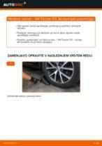 Kako zamenjati avtodel vzmeti spredaj na avtu VW Touran 1T3 – vodnik menjave