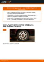Как се сменят задни пружини на Audi A3 8L1 – Ръководство за смяна