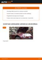 Kuidas vahetada Audi A3 8L1 mootoriõli ja filtrit – õpetus