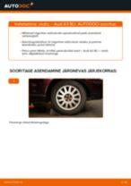 AUDI A1 Stabilisaatori otsavarras vahetus - nõuanded ja nipid