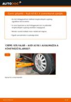 AUDI A3 Gólyaláb cseréje : ingyenes pdf