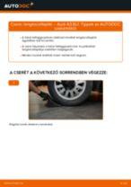 Cseréljünk Lengéscsillapító AUDI A3: felhasználói kézikönyv