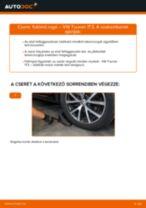 Lépésről-lépésre PDF-útmutató - Nissan Pathfinder r51 Féktárcsa csere