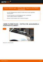 Elülső futómű rugó-csere VW Polo 9N gépkocsin – Útmutató