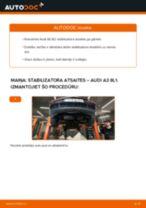 Mainīties AUDI A3 (8L1) Savienotājstienis - soli-pa-solim pamācības PDF