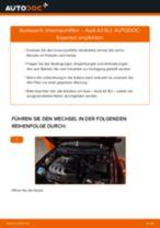 Wie Pollenfilter AUDI A3 tauschen und einstellen: PDF-Tutorial