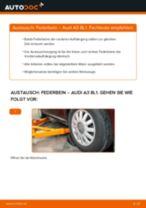 PEUGEOT 505 Bremsbeläge wechseln vorderachse und hinterachse Anleitung pdf