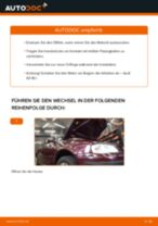 Mercedes X117 Federbein: Online-Handbuch zum Selbstwechsel
