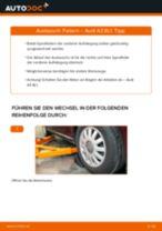 Wie Stoßdämpfer Feder hinten links rechts beim AUDI A3 (8L1) wechseln - Handbuch online