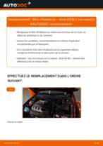 Comment changer : filtre d'habitacle sur Audi A3 8L1 - Guide de remplacement