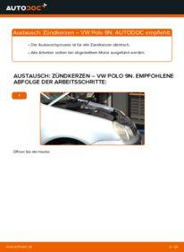 Wie der Wechsel durchführt wird: Zündkerzen 1.4 16V Polo 9n tauschen