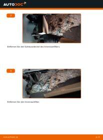 Wie der Wechsel durchführt wird: Innenraumfilter 1.4 16V Polo 9n tauschen