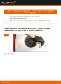 Vervangen: Brandstoffilter VW POLO
