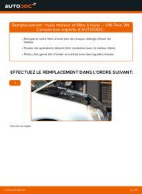 Comment effectuer un remplacement de Filtre à Huile sur 1.4 16V VW Polo 9n